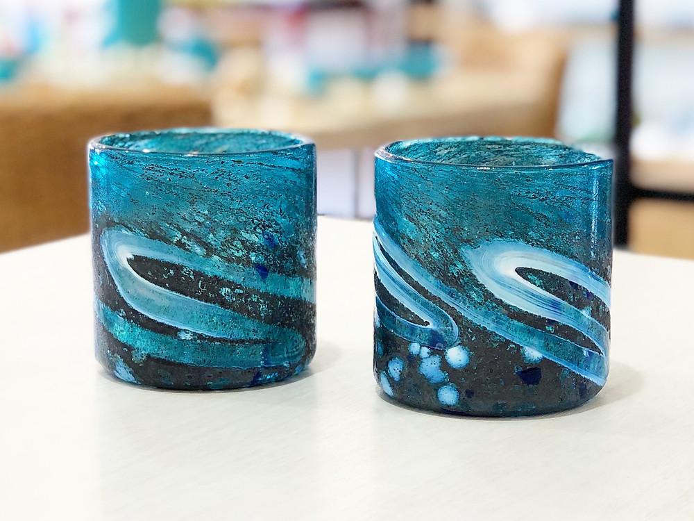 琉球ガラス ニューコーラル 琉球ガラス やちむん 人気 かわいい 通販 宮古島 沖縄