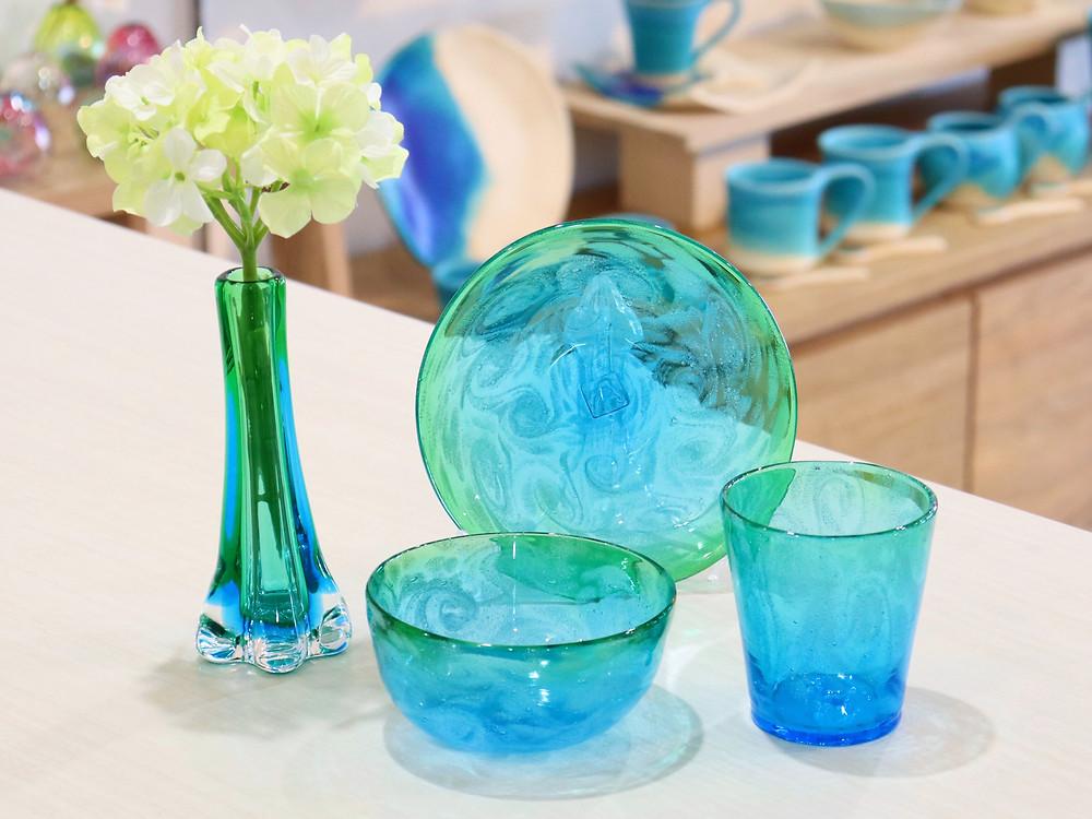 琉球ガラス 匠工房 うずイラブチャー 宮古島 人気 かわいい