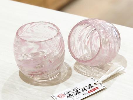 琉球ガラス シェルクリア入荷致しました