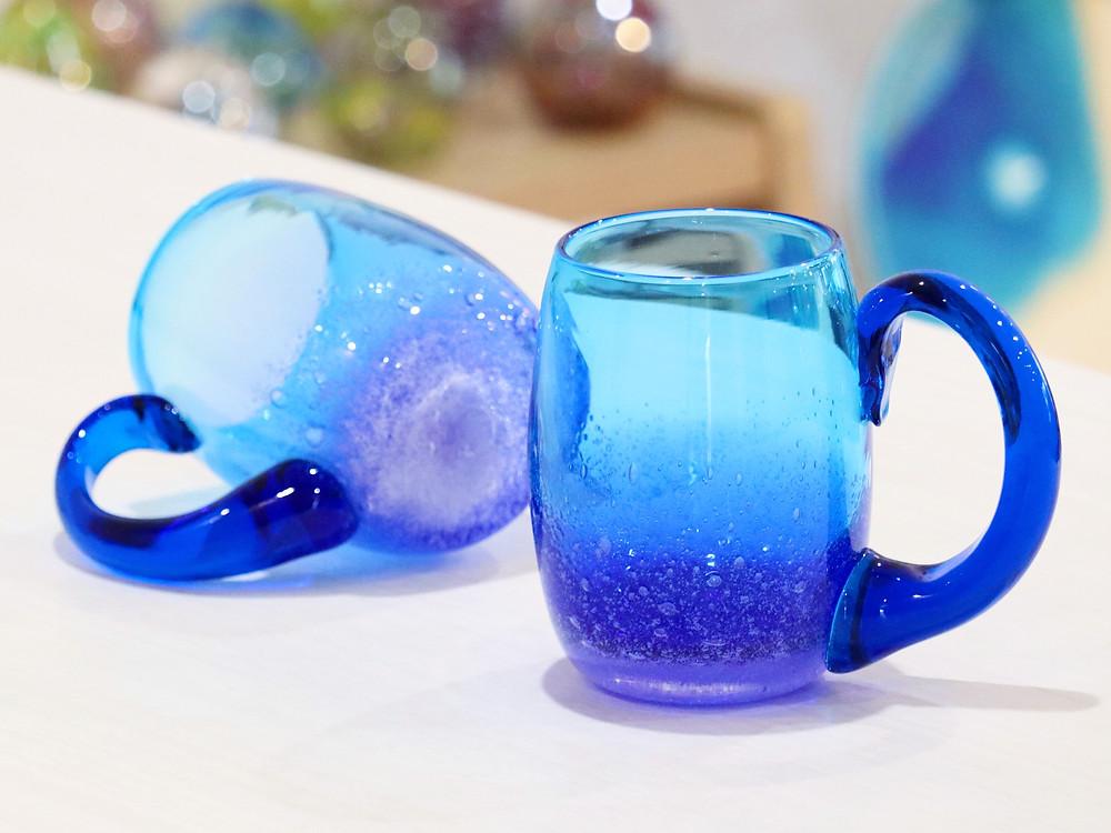 琉球ガラス 蒼 宮古島 人気 かわいい