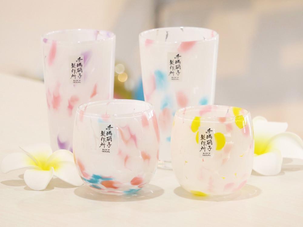 琉球ガラス プルメリア 人気 かわいい 通販 おすすめ