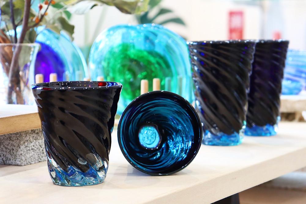 琉球硝子 glass32 青の洞窟 琉球ガラス 沖縄 宮古島 やちむん 人気 かわいい おすすめ 通販