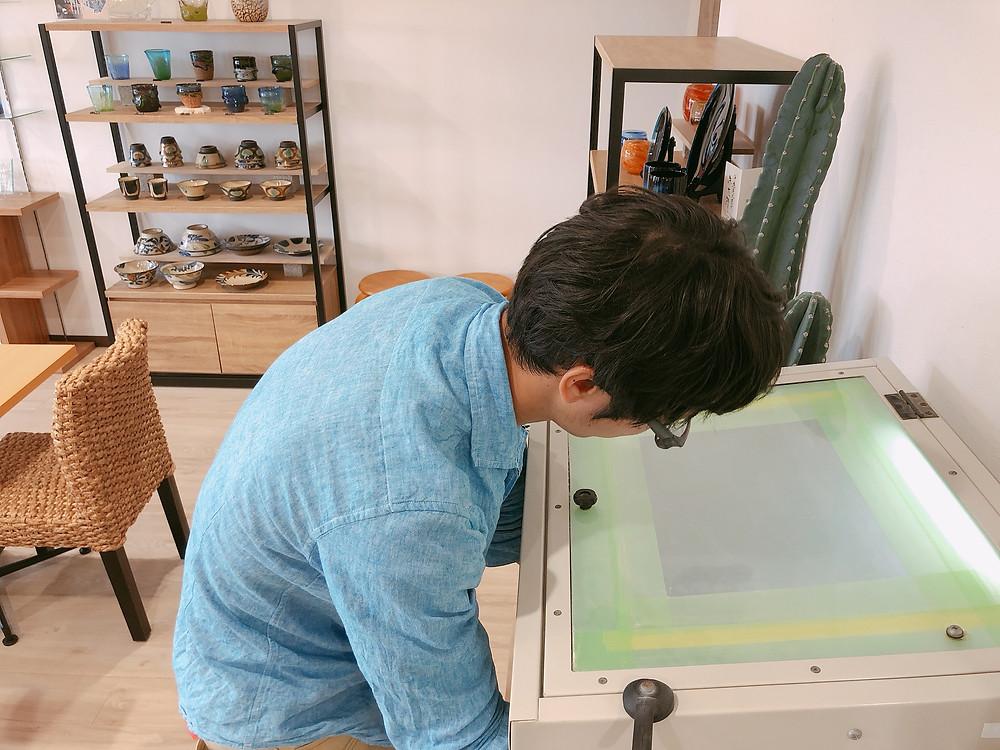 琉球ガラス名入れ体験 お土産