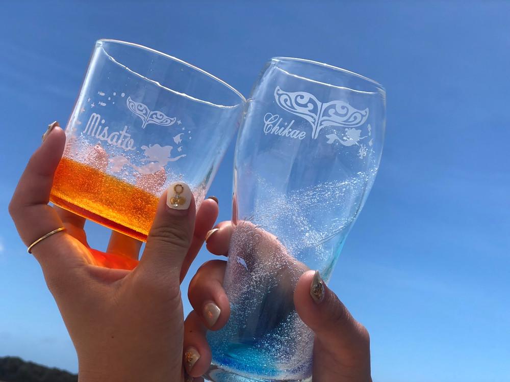 琉球ガラス名入れ体験 宮古島観光
