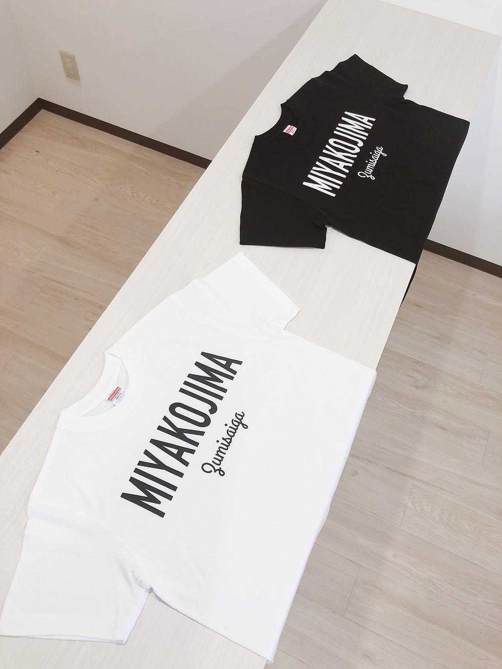 Miyakohima Zumisaiga Tシャツ