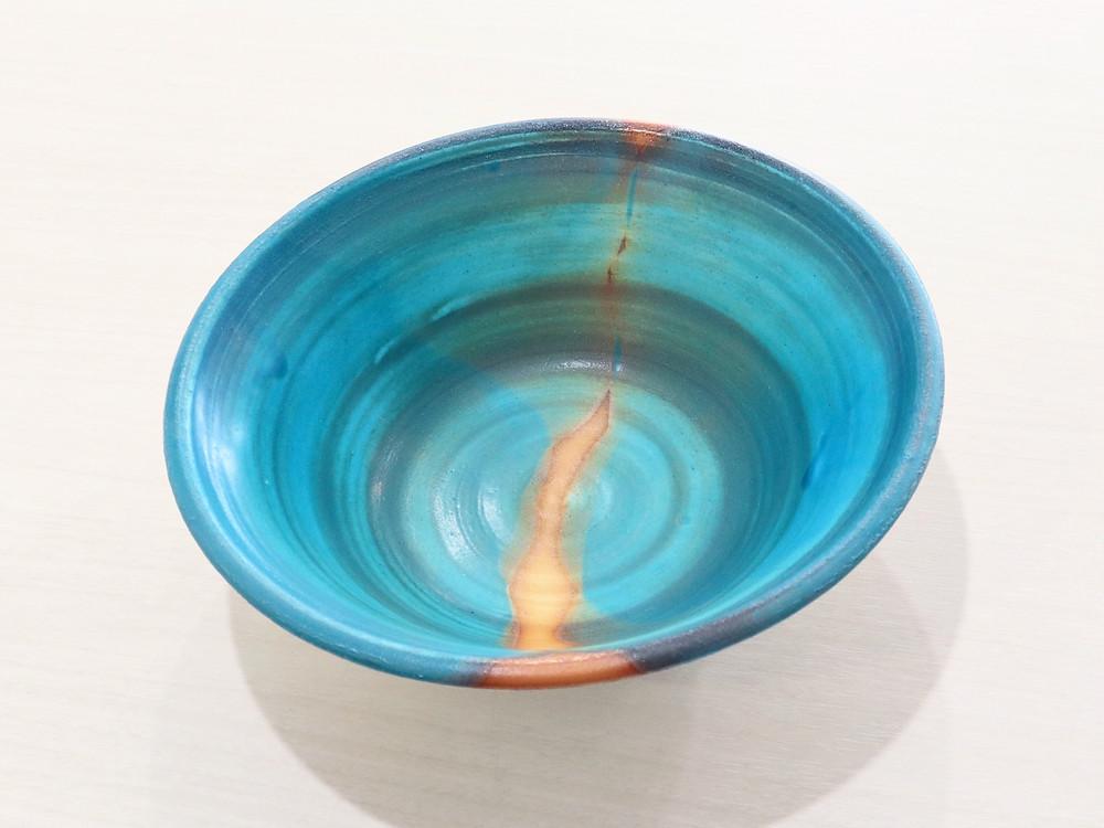うるま陶器 やちむん 風神 鉢(大) 宮古島 人気 おすすめ かわいい