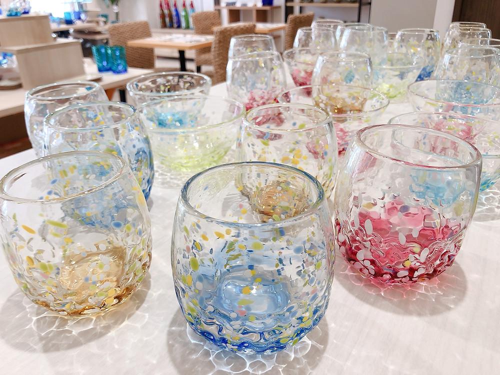 琉球ガラス 花波シリーズ