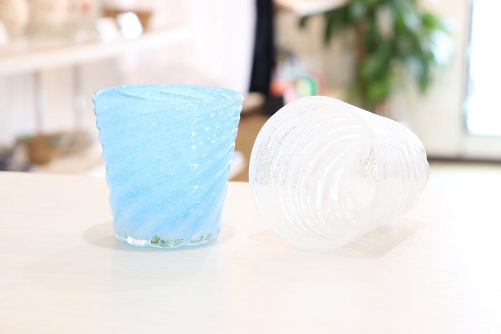 琉球ガラス 泡星型モールグラス 琉球ガラス やちむん 人気 かわいい おすすめ 沖縄 宮古島 通販 かっこいい