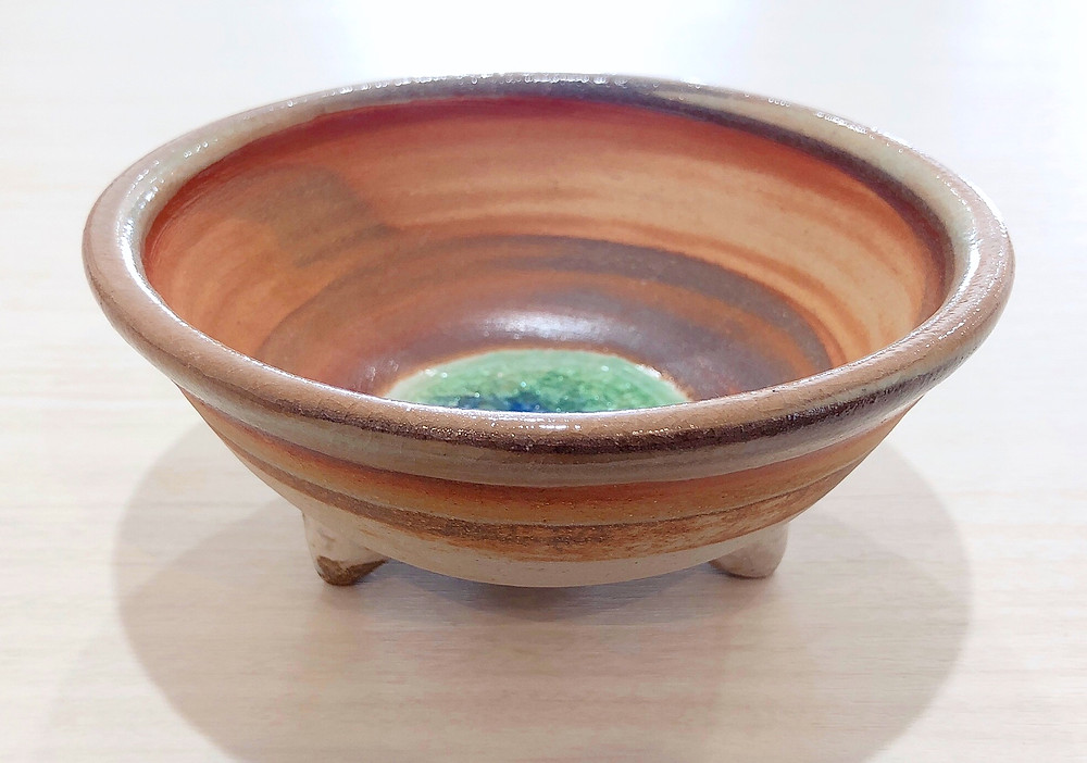 三つ足マーブル うるま陶器