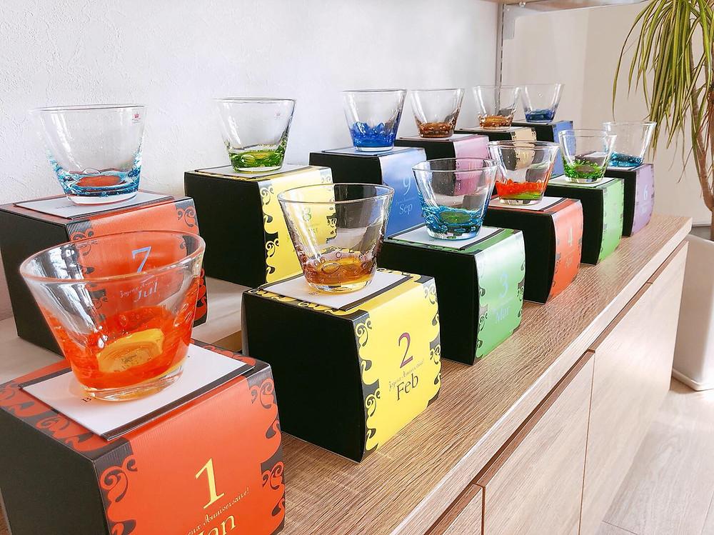 バースデーグラス 琉球ガラス やちむん お土産 観光 旅行