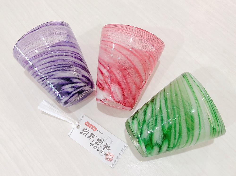 琉球ガラス 涼夏広口グラス
