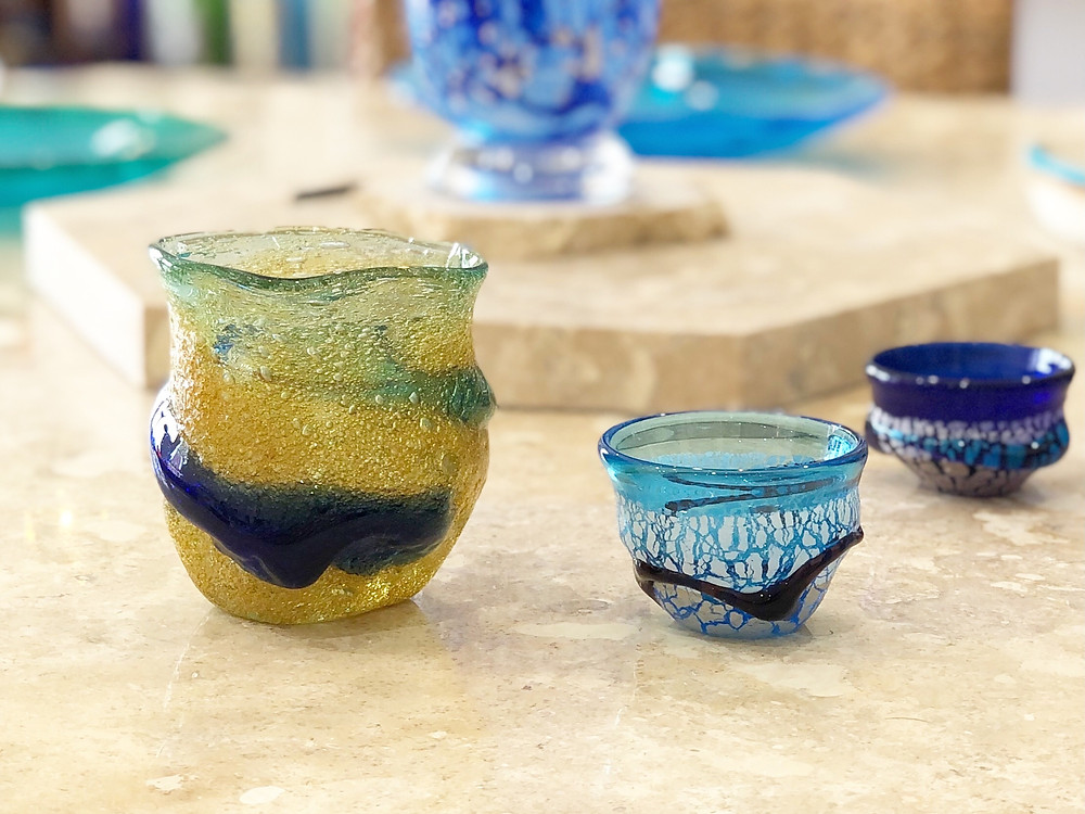 宙吹ガラス工房虹 稲嶺盛吉 宮古島 沖縄 かわいい 人気 おすすめ 通販 琉球ガラス やちむん
