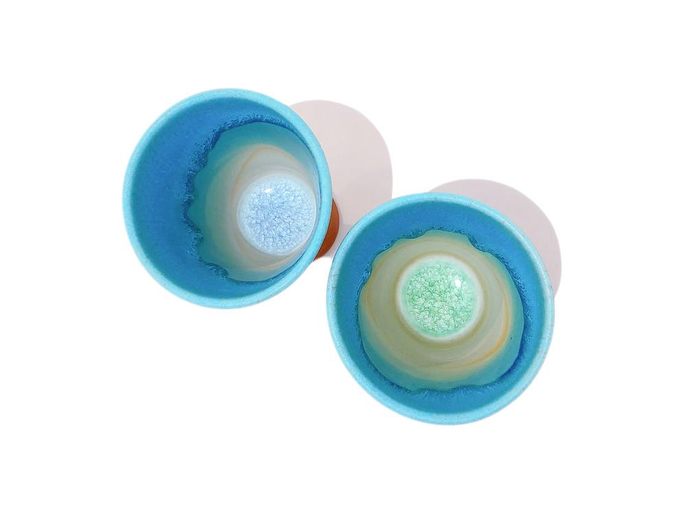 うるま陶器 ゴブレット 琉球ガラス やちむん 通販 値段