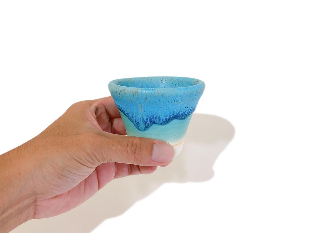うるま陶器 猪口 通販 値段 やちむん 琉球ガラス