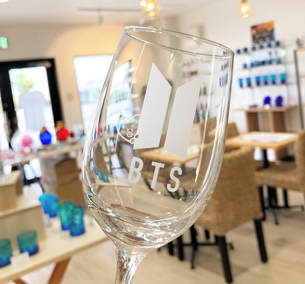 BTSワイングラス