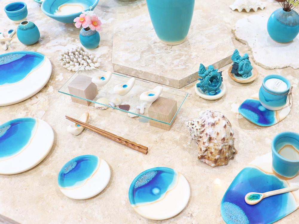 うるま陶器 琉球ガラス やちむん 人気 かわいい 通販 宮古島 沖縄