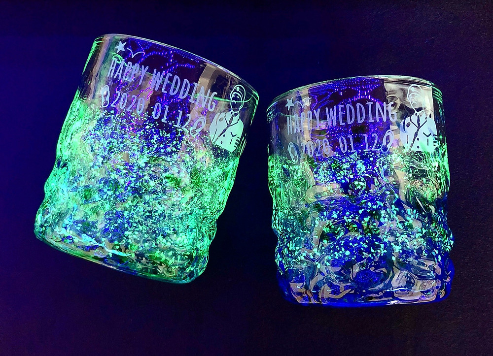 琉球ガラス 糸満ガラス製作所 群星でこぼこ