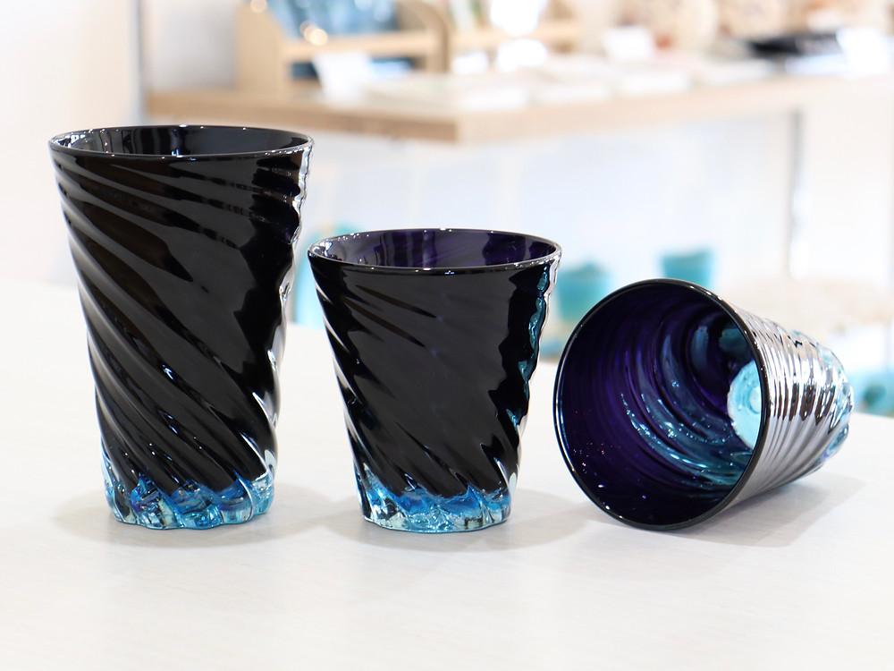 琉球ガラス青の洞窟 宮古島 沖縄 かわいい 人気 おすすめ 通販 琉球ガラス やちむん