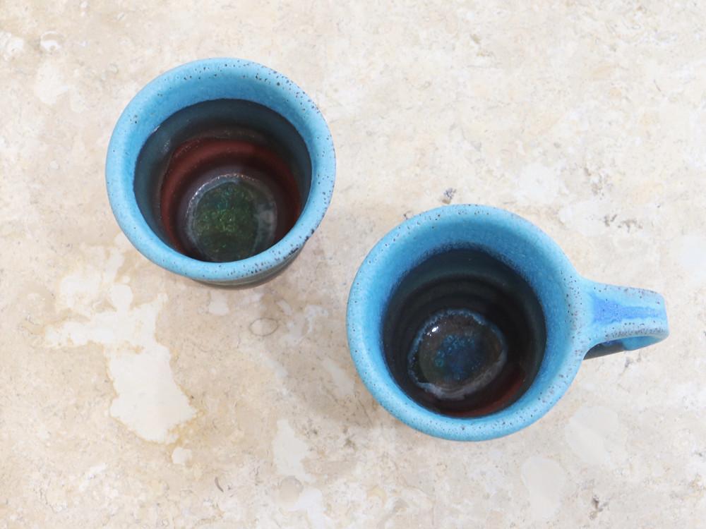 うるま陶器 new カップ 宮古島 沖縄 かわいい 人気 おすすめ 通販 琉球ガラス やちむん