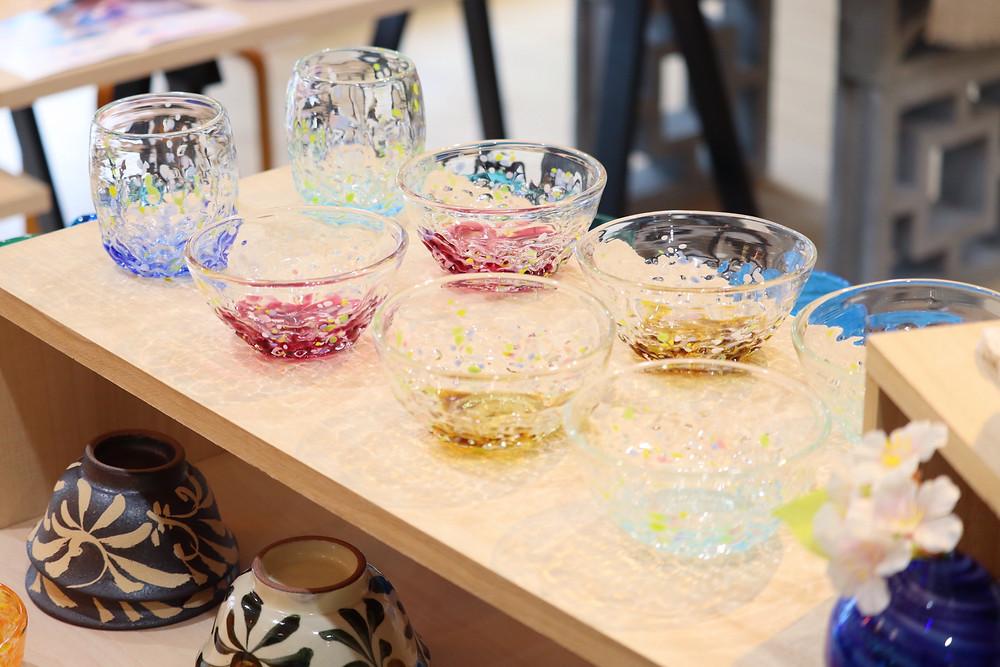 琉球ガラス 花波小鉢 かわいい 人気 おすすめ 通販 宮古島