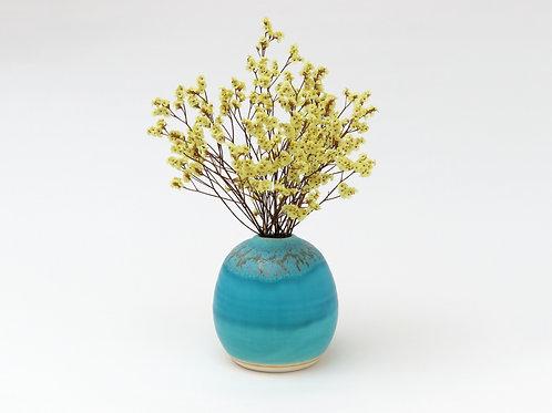 うるま陶器 花器 海の卵