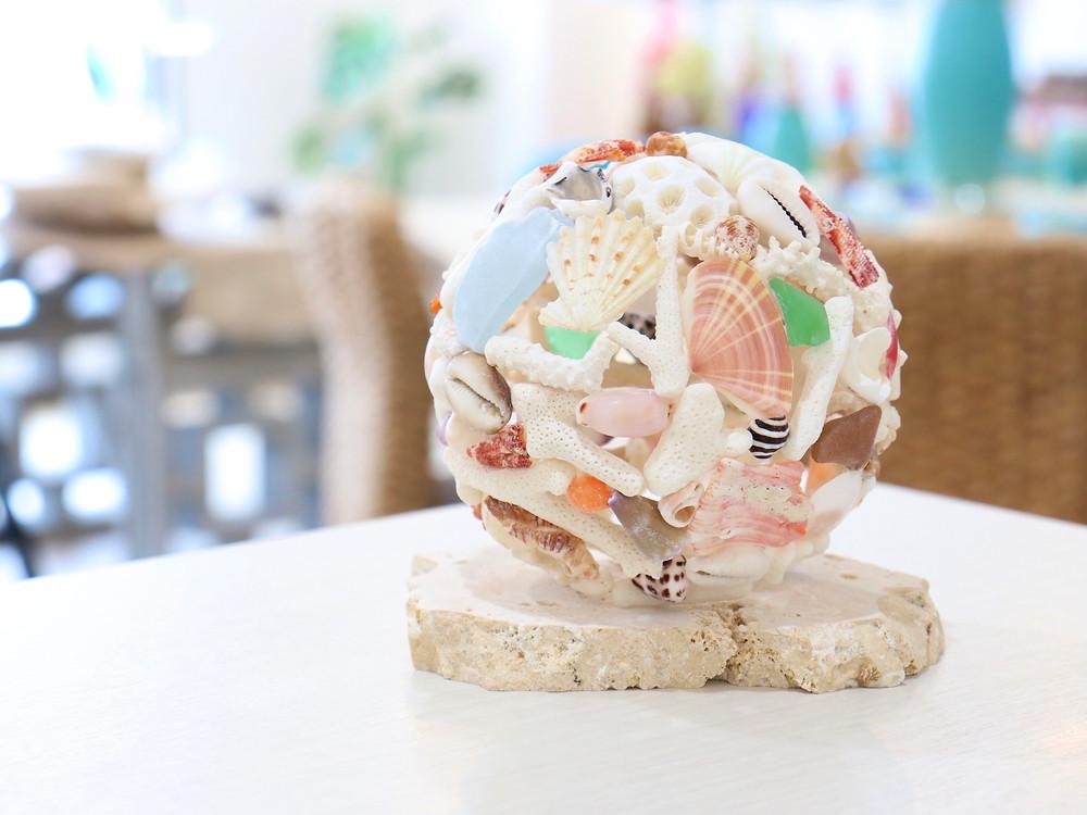 珊瑚ボール 琉球ガラス やちむん 沖縄県宮古島 可愛い オススメ 通販 人気
