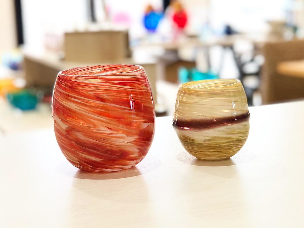 琉球ガラス PLANET 太陽 土星