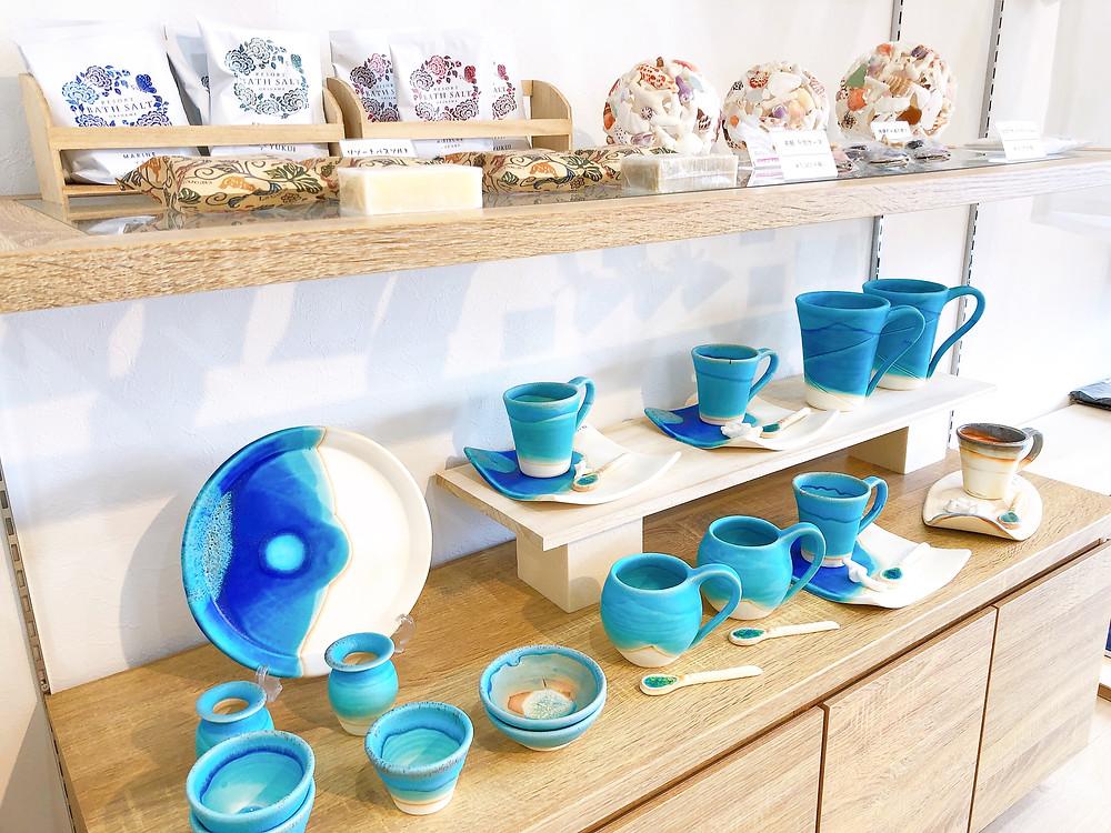 うるま陶器 沖縄 宮古島 やちむん 琉球ガラス 値段 通販  人気