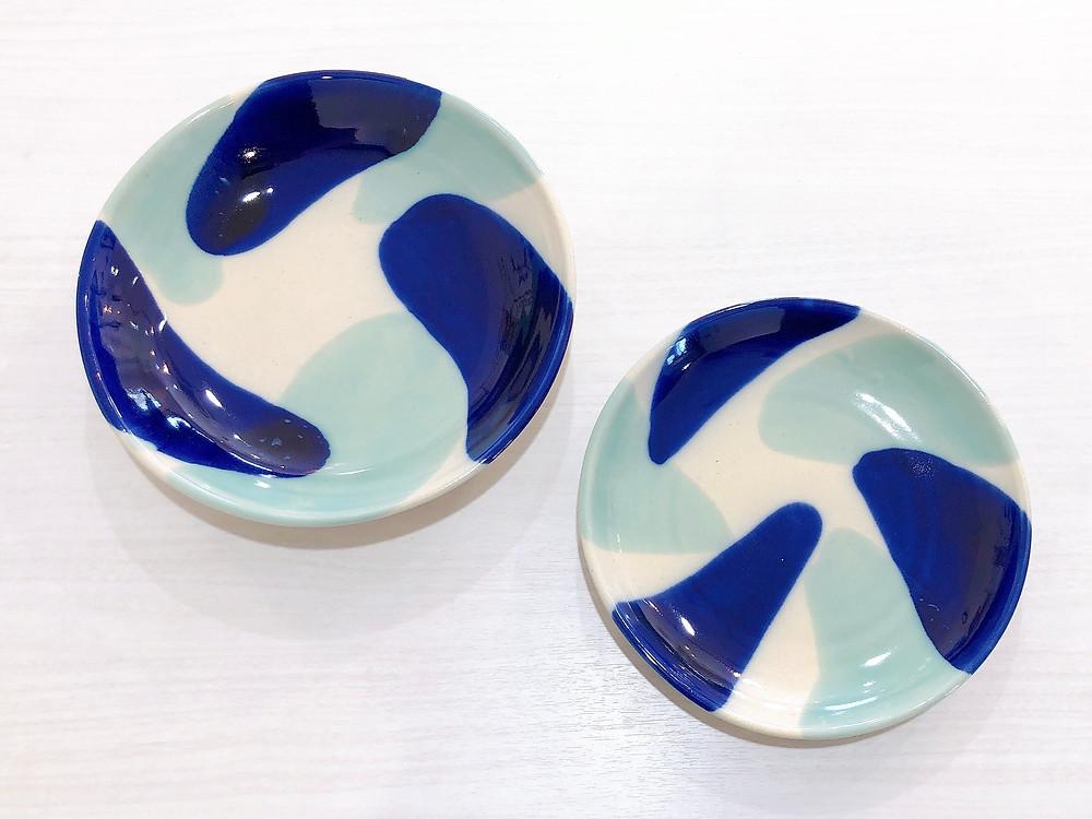 やちむん オーバル皿 土工房陶糸 琉球ガラス やちむん 人気 かわいい 通販 宮古島 沖縄
