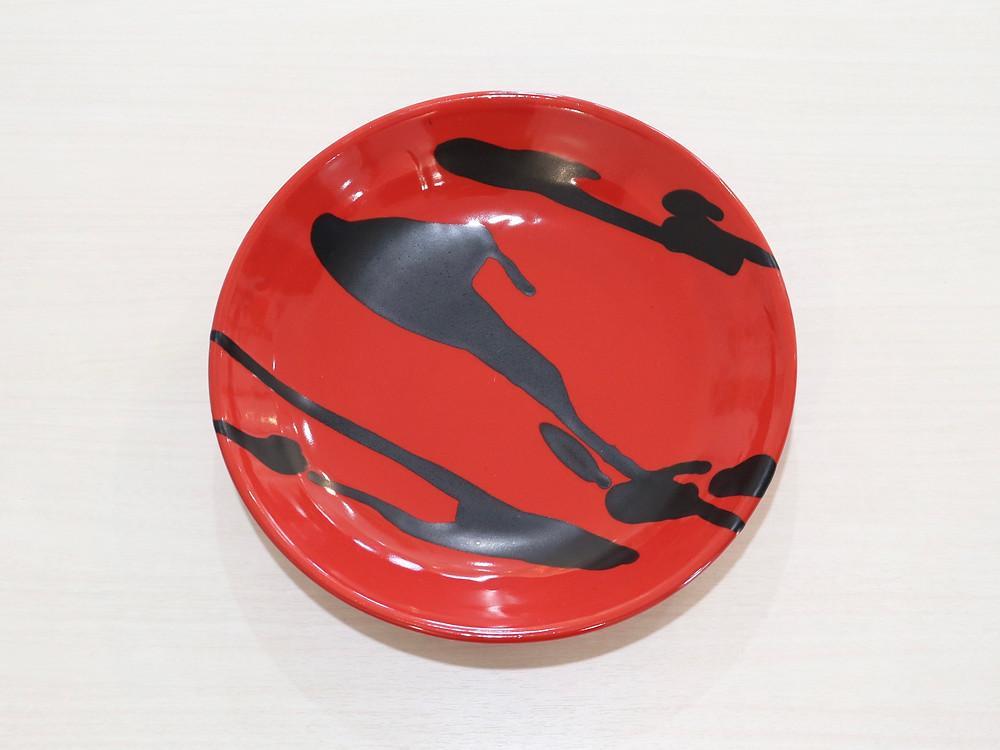 やちむん 土工房陶糸 8寸皿 琉球ガラス やちむん 沖縄県宮古島 可愛い オススメ 通販 人気