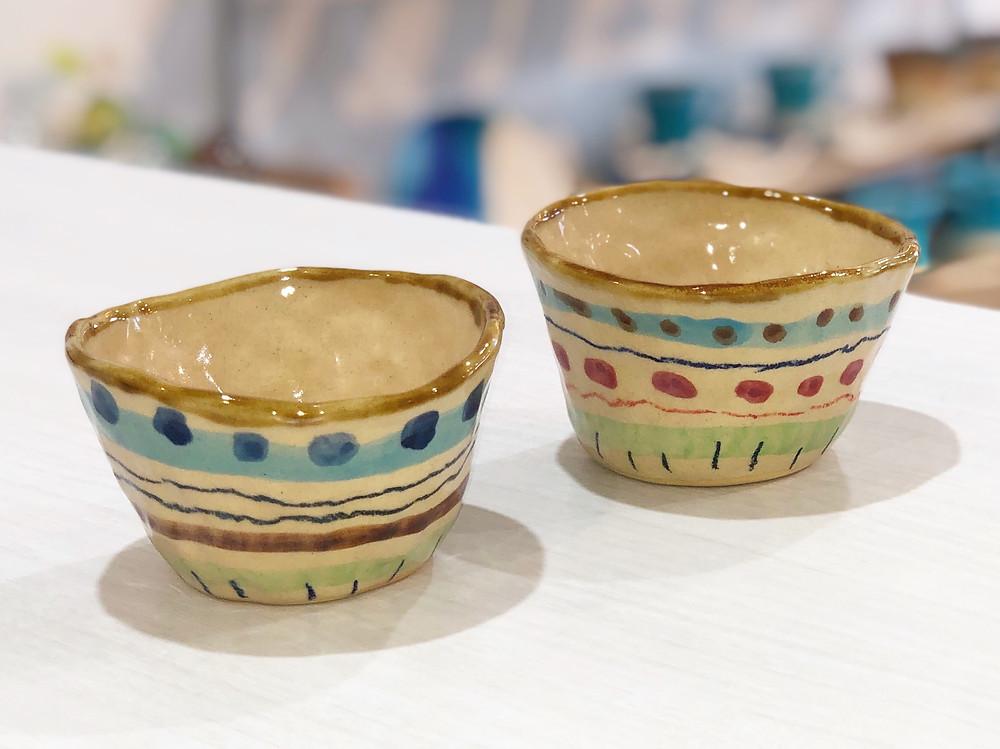 土工房 陶糸 フリー碗 宮古島 やちむん 人気 かわいい