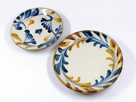 陶眞窯 (やちむん) 5寸皿、6寸皿