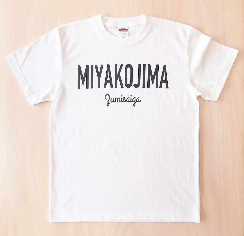 MIYAKOJIMA Zumisaiga Tシャツ ホワイト