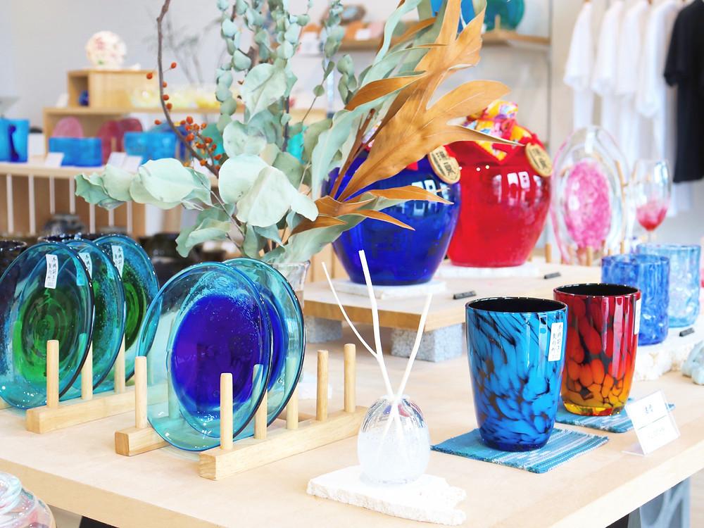 糸満硝子製作所 琉球硝子 琉球ガラス 沖縄 宮古島 やちむん 人気 かわいい おすすめ 通販