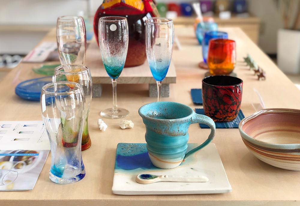 宮古島旅行のお土産に琉球ガラスやちむん