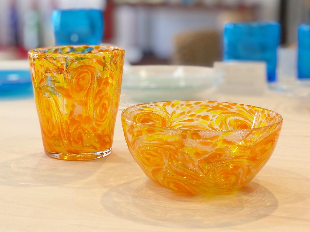 琉球ガラス オススメ 可愛い お土産 沖縄 宮古島 マンゴー