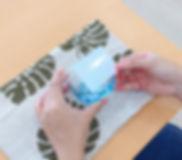 宮古島旅行にオススメ 琉球ガラス名入れ体験 シール.jpeg