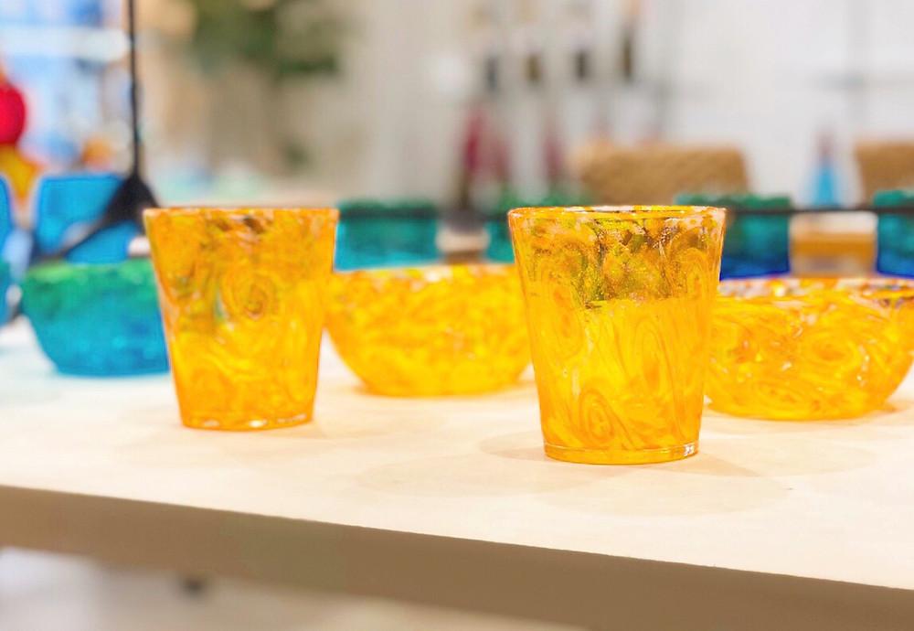琉球ガラス マンゴー 宮古島お土産