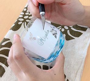 宮古島旅行にオススメ 琉球ガラス名入れ体験 カスとり.jpeg