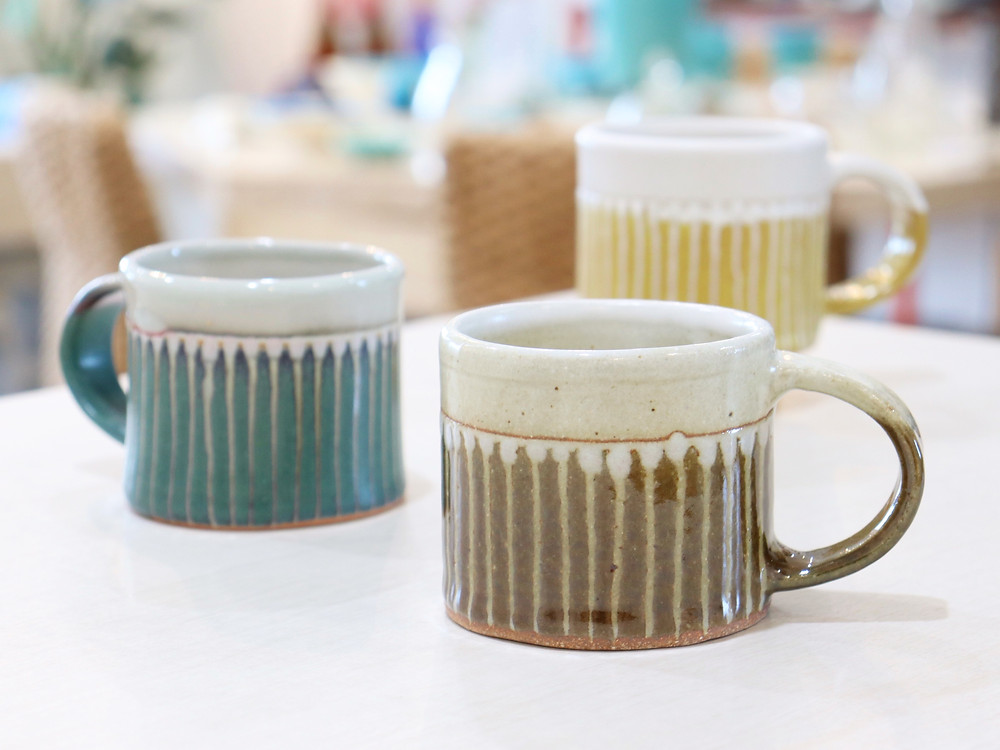 やちむん マカロンショートマグカップ 琉球ガラス やちむん 人気 かわいい おすすめ 沖縄 宮古島 通販 かっこいい