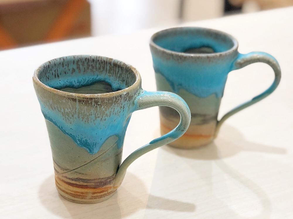 うるま陶器 マグカップ