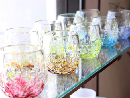 琉球ガラス 花波たるグラス