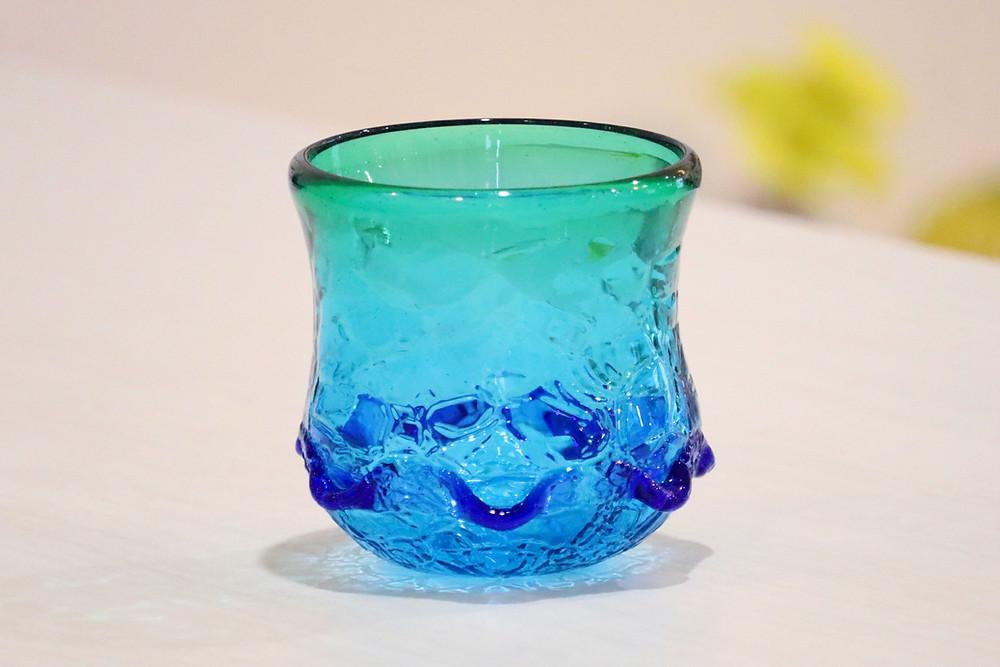 琉球ガラス イラブチャーアイスカット かわいい 人気 おすすめ 通販 宮古島