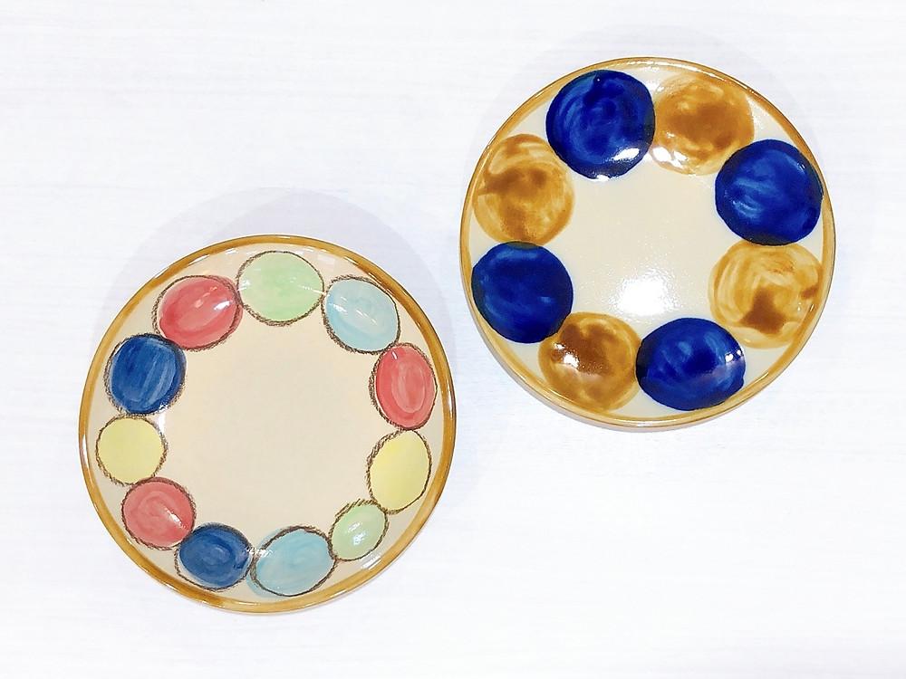 土工房 陶糸 8寸皿 やちむん かわいい 人気 おすすめ 通販 宮古島