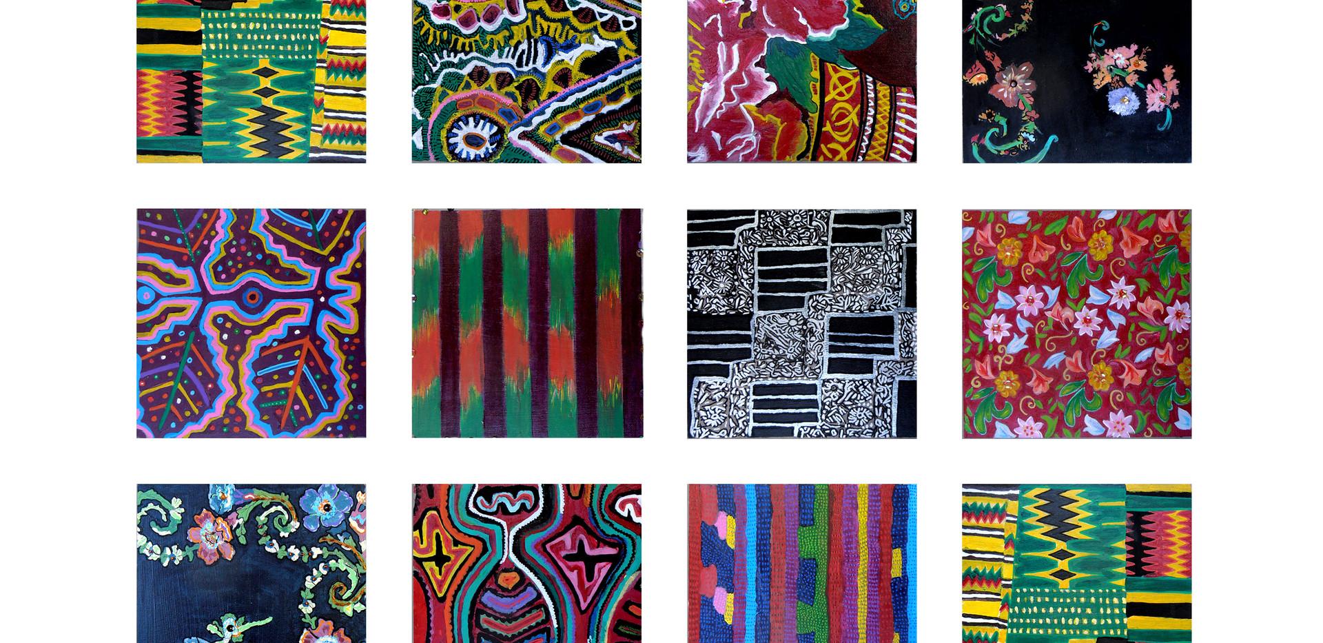 Exposition Travail autour des textiles traditionnels