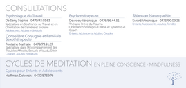 Centre Respire - mise en page flyer