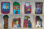 Ma maison - peinture acrylique