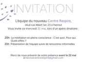 Centre Respire - mise en page