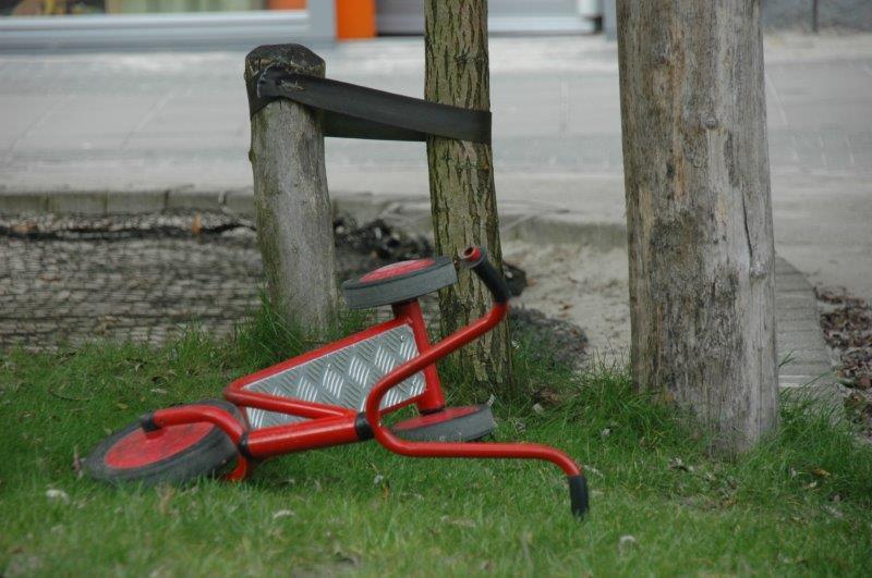 geen fietsjes nodig natuurlijk buienspelen
