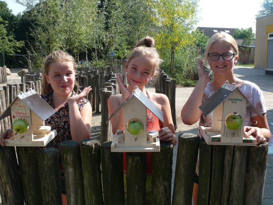 buitenles buroBlad groen schoolplein